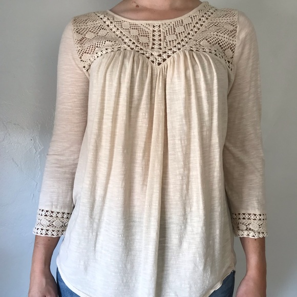 Lucky Brand Tops - LUCKY BRAND lovely lace top